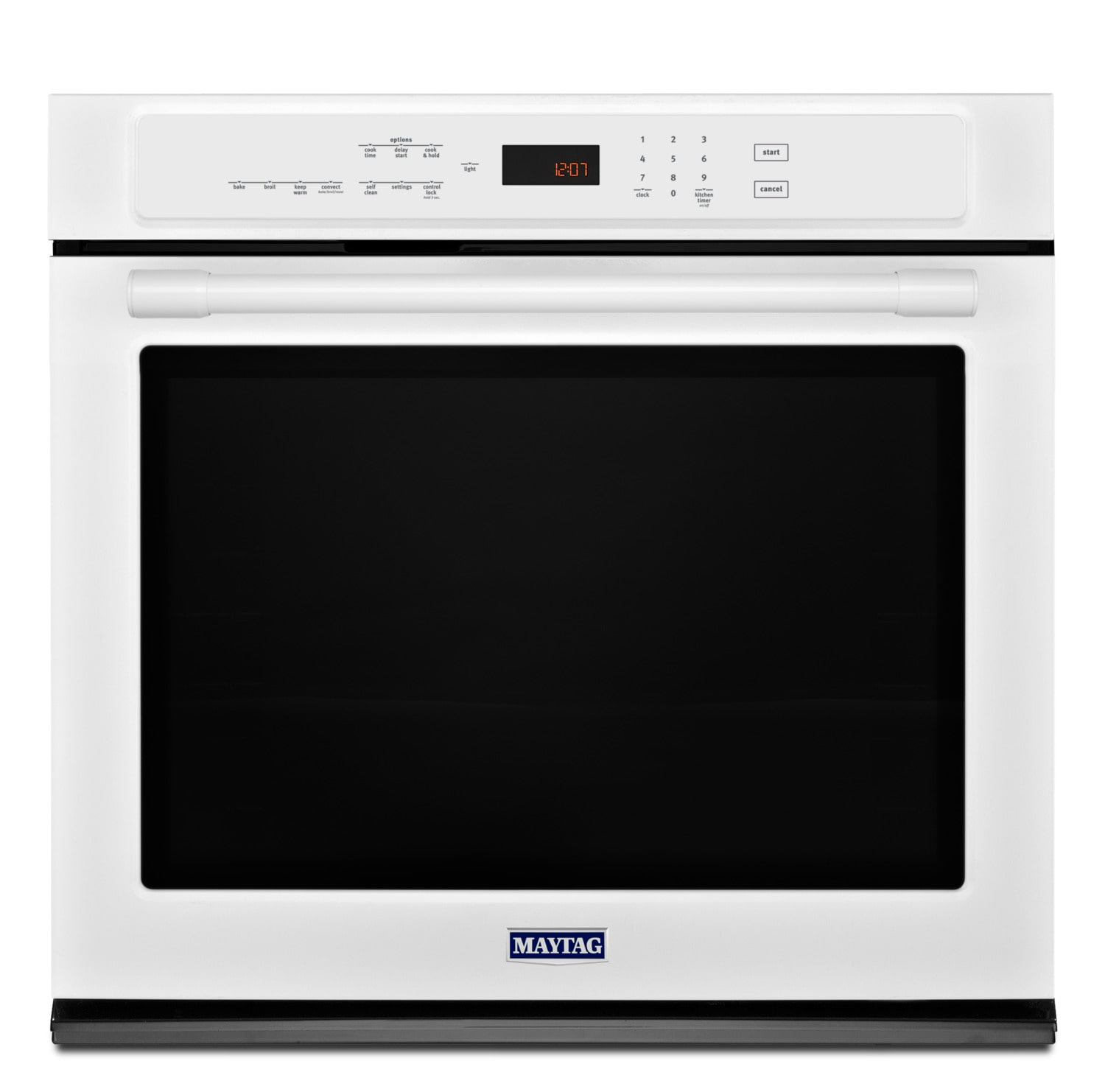 Maytag White Electric Convection Wall Oven (5.0 Cu. Ft.) - MEW9530FW