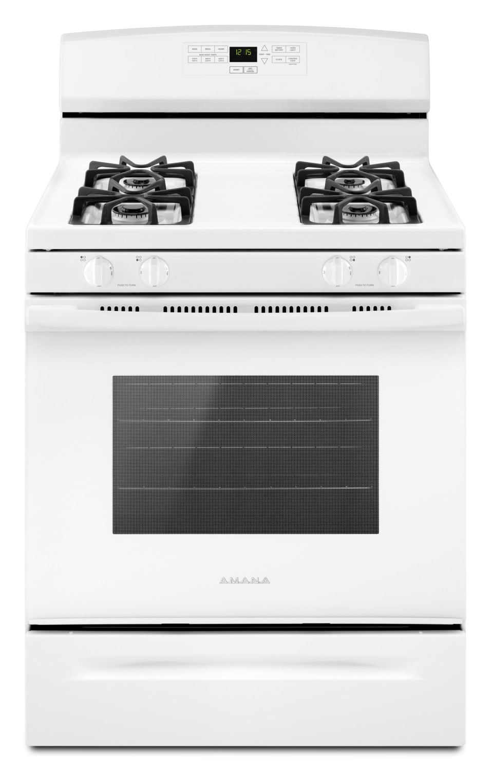 Amana White Freestanding Gas Range (5.0 Cu. Ft.) - AGR6303MFW