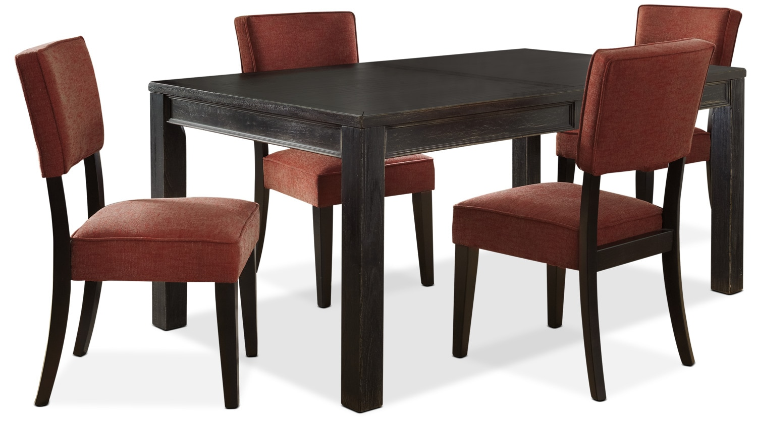 Dining Room Furniture - Gavelston 5-Piece Dining Package – Red