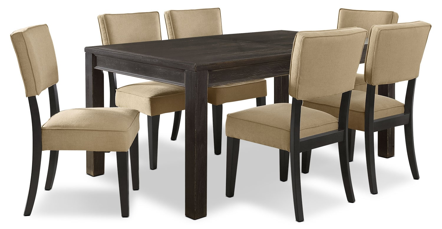 Gavelston 7-Piece Dining Package – Beige