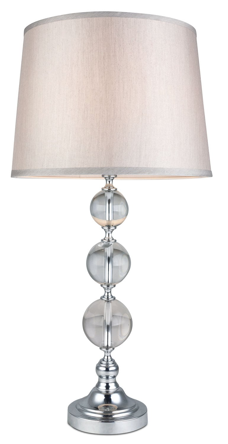 Home Accessories - Glass Balls Table Lamp
