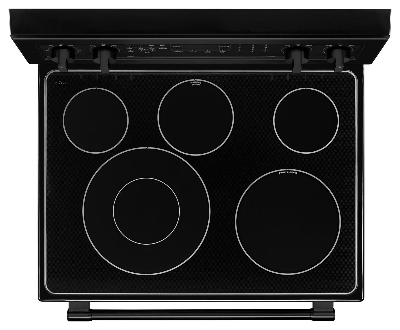 Uncategorized Appliance Stores Kitchener ranges leons maytag black freestanding electric convection range 6 4 cu ft ymer8800fb