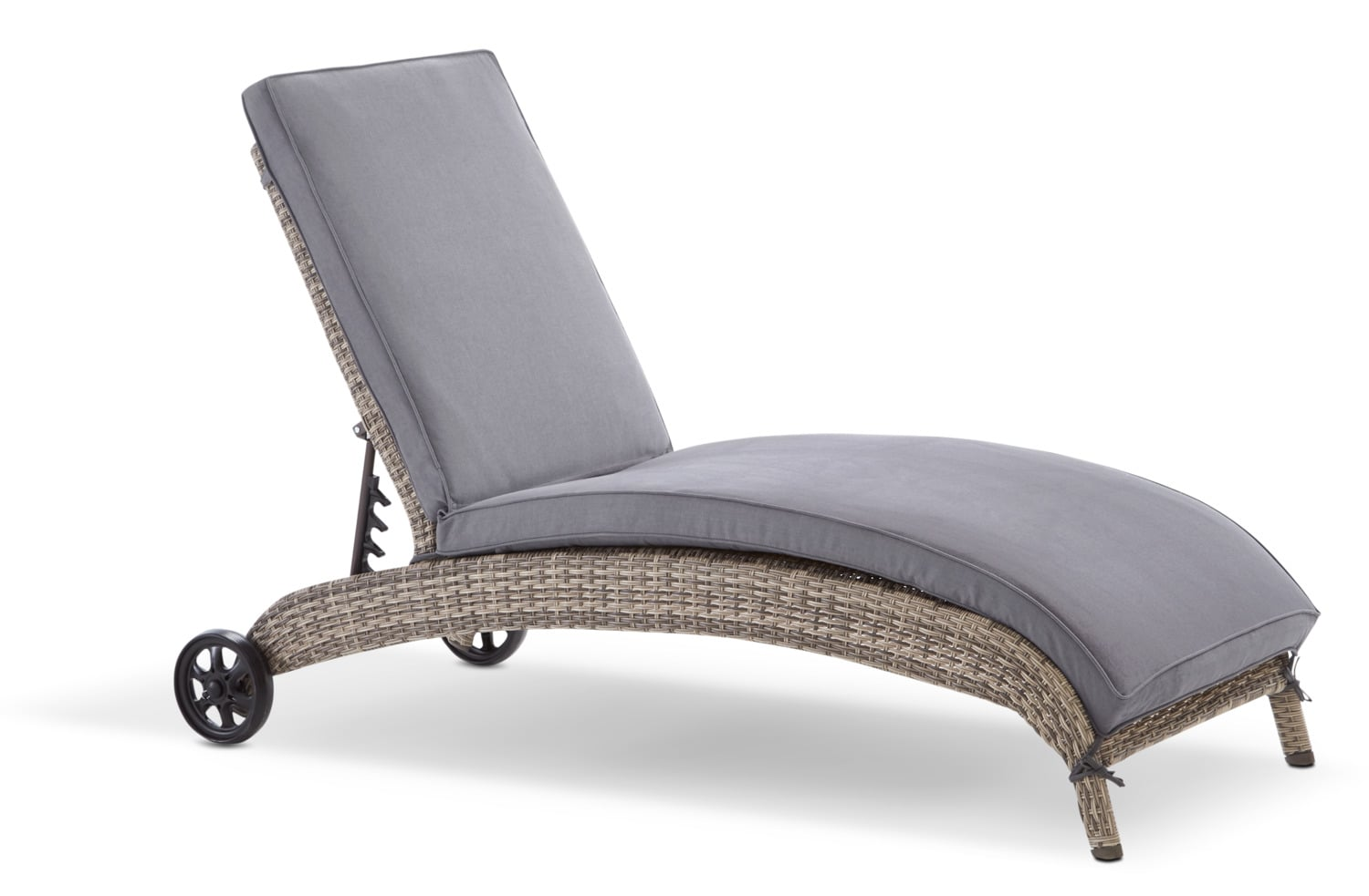 Orion Chaise Lounge - Grey