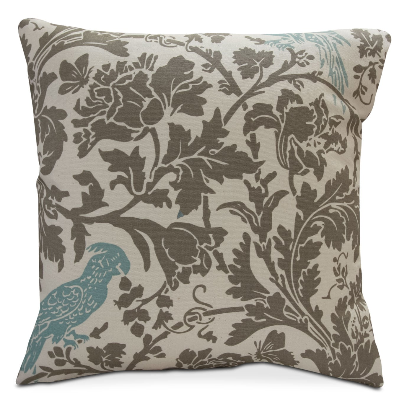 Hawkeye Blue Bird Accent Pillow