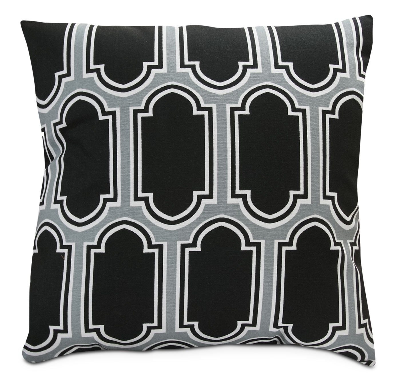 Black Ladder Accent Pillow