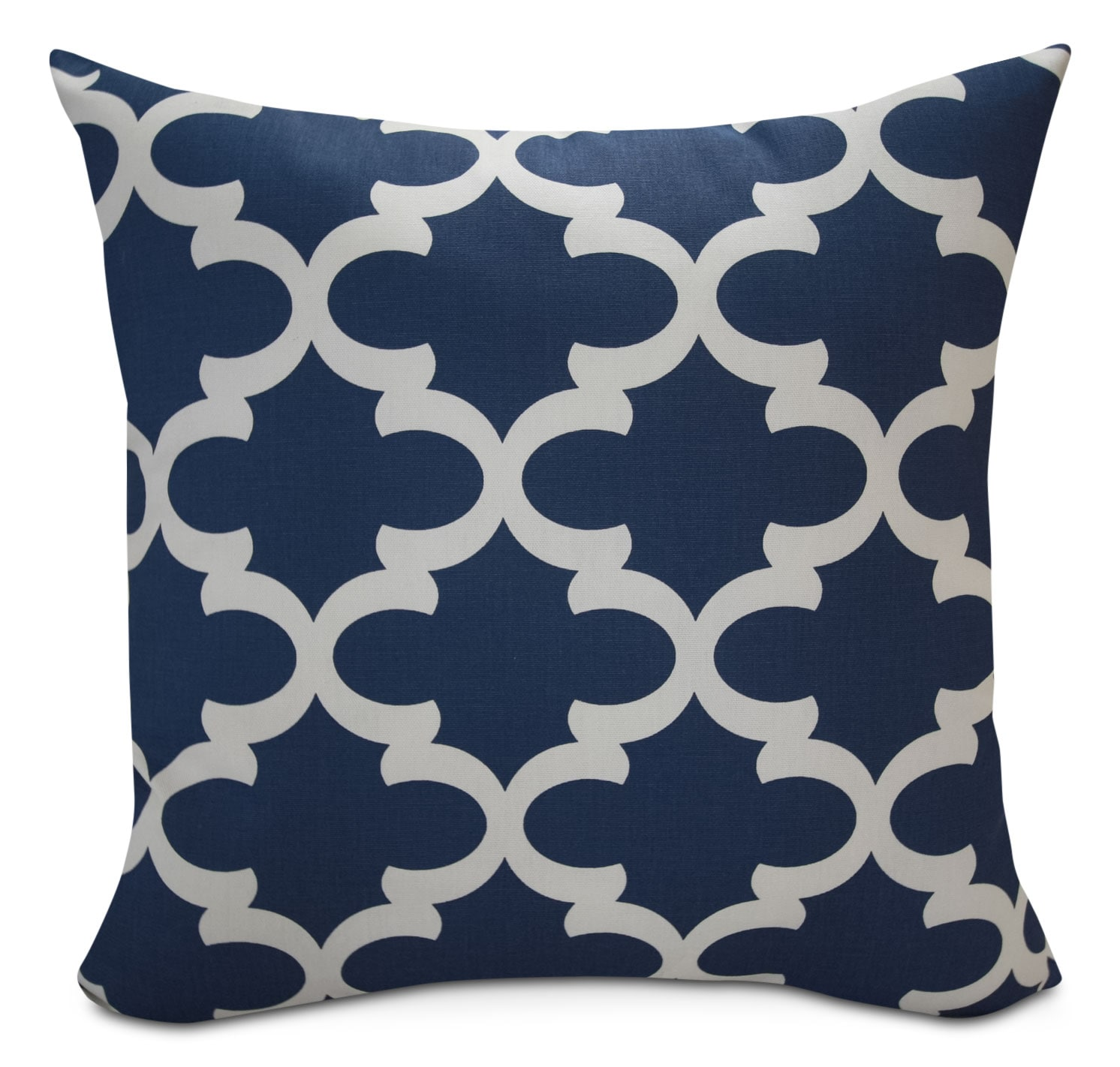 Santoro Blue Geo Accent Pillow