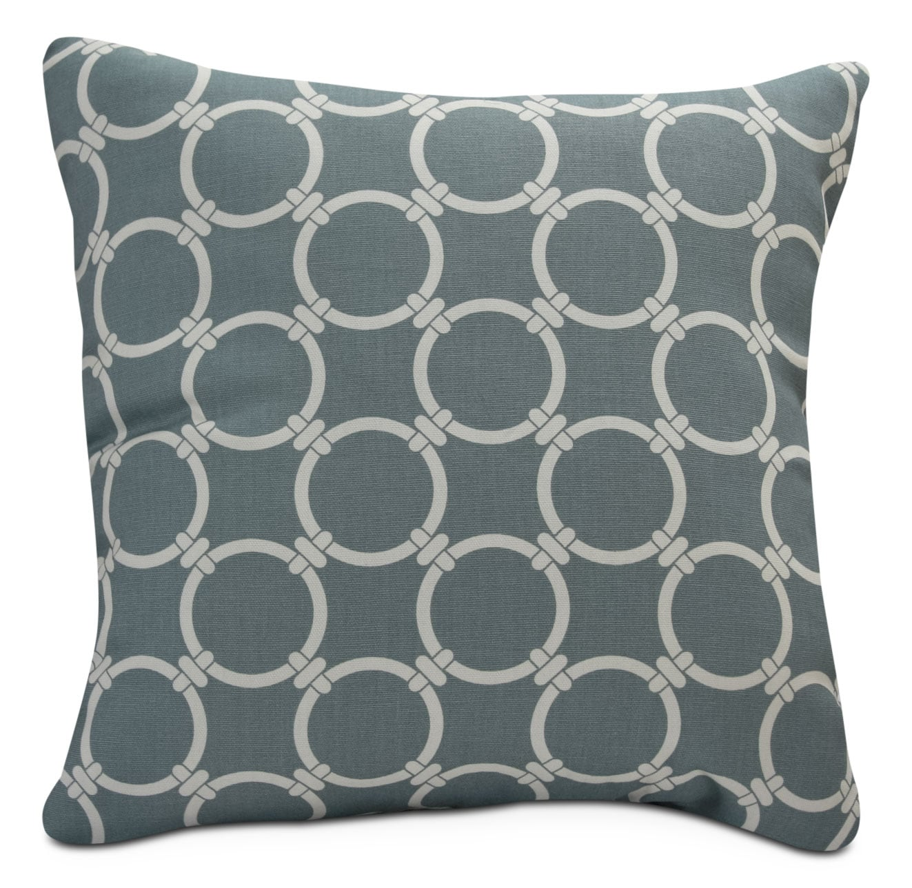 Grey Links Accent Pillow