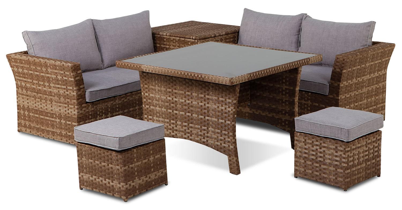 Outdoor Furniture - Creston 6-Piece Patio Set