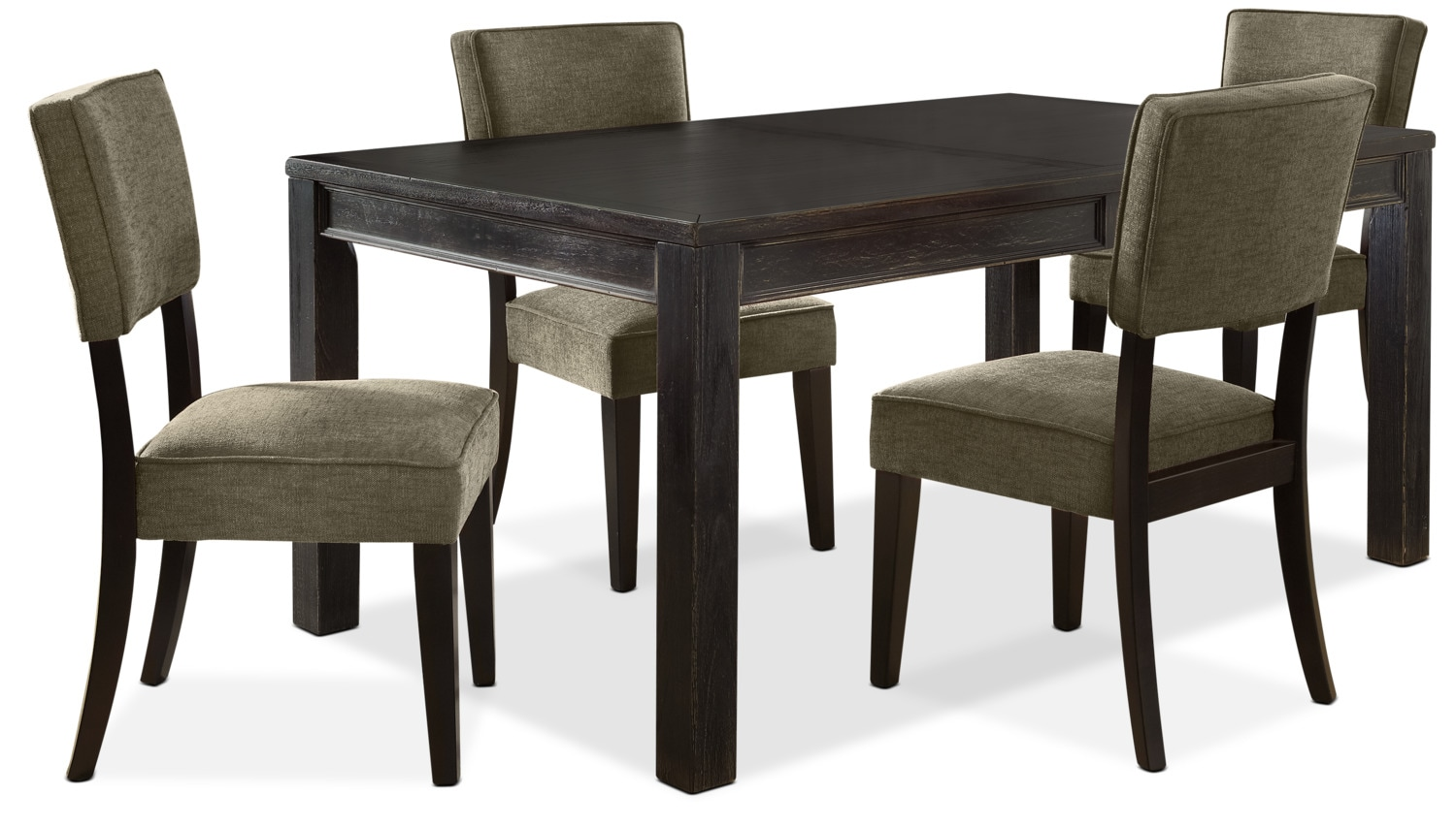Gavelston 5-Piece Dining Package – Green