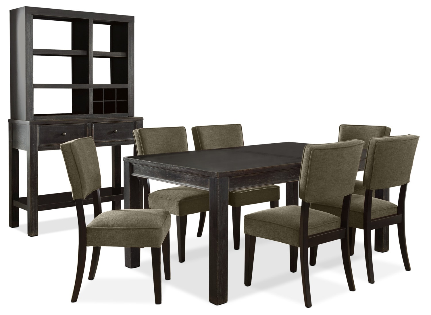 Gavelston 9-Piece Dining Package – Green