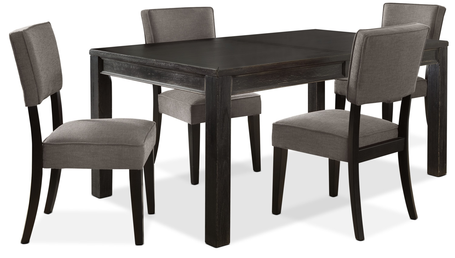 Dining Room Furniture - Gavelston 5-Piece Dining Package – Grey