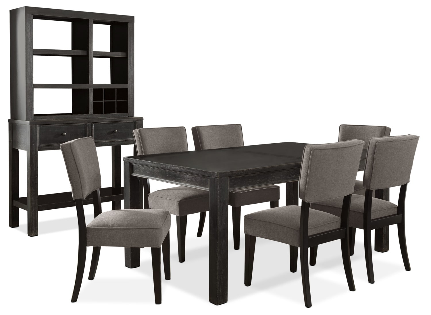 Gavelston 9-Piece Dining Package – Grey