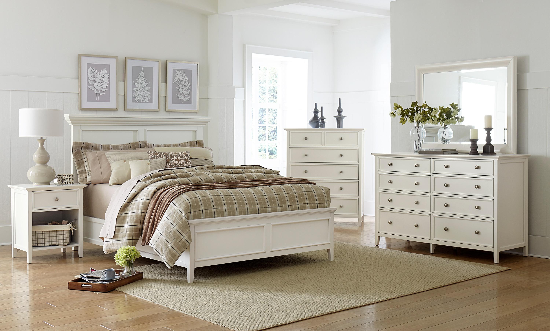 Ellsworth 4-Piece Queen Bedroom Set - White