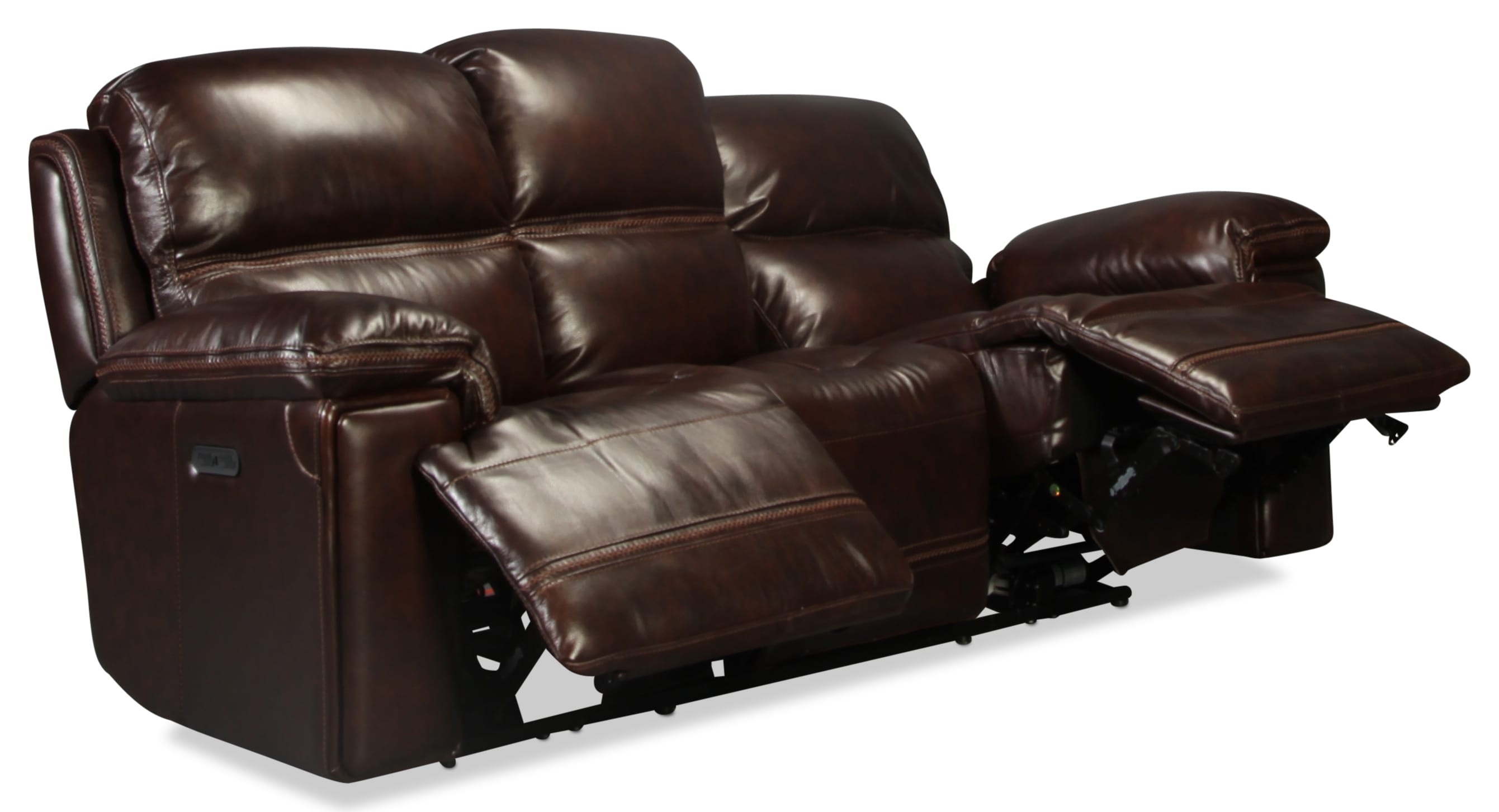 Diego sofa dark brown levin furniture for Levin furniture sectional sofa