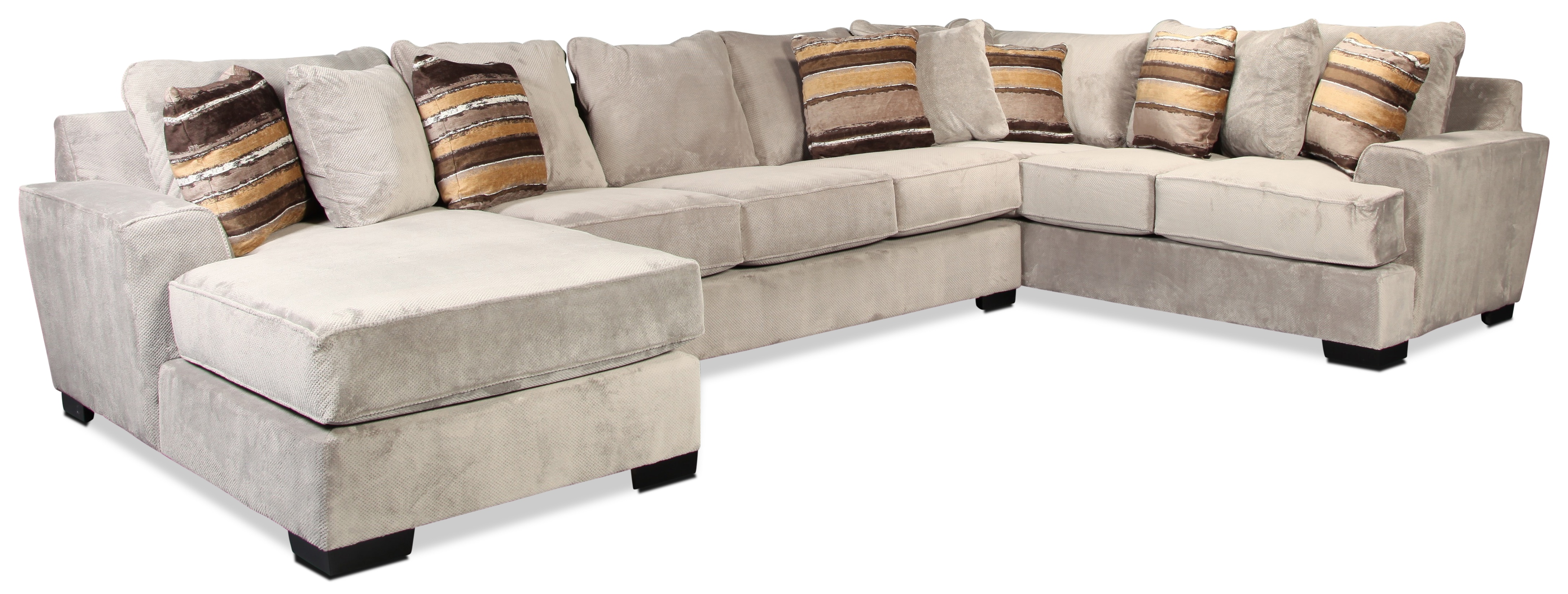 Living Room Furniture - Serendipity 3 Piece Sectional