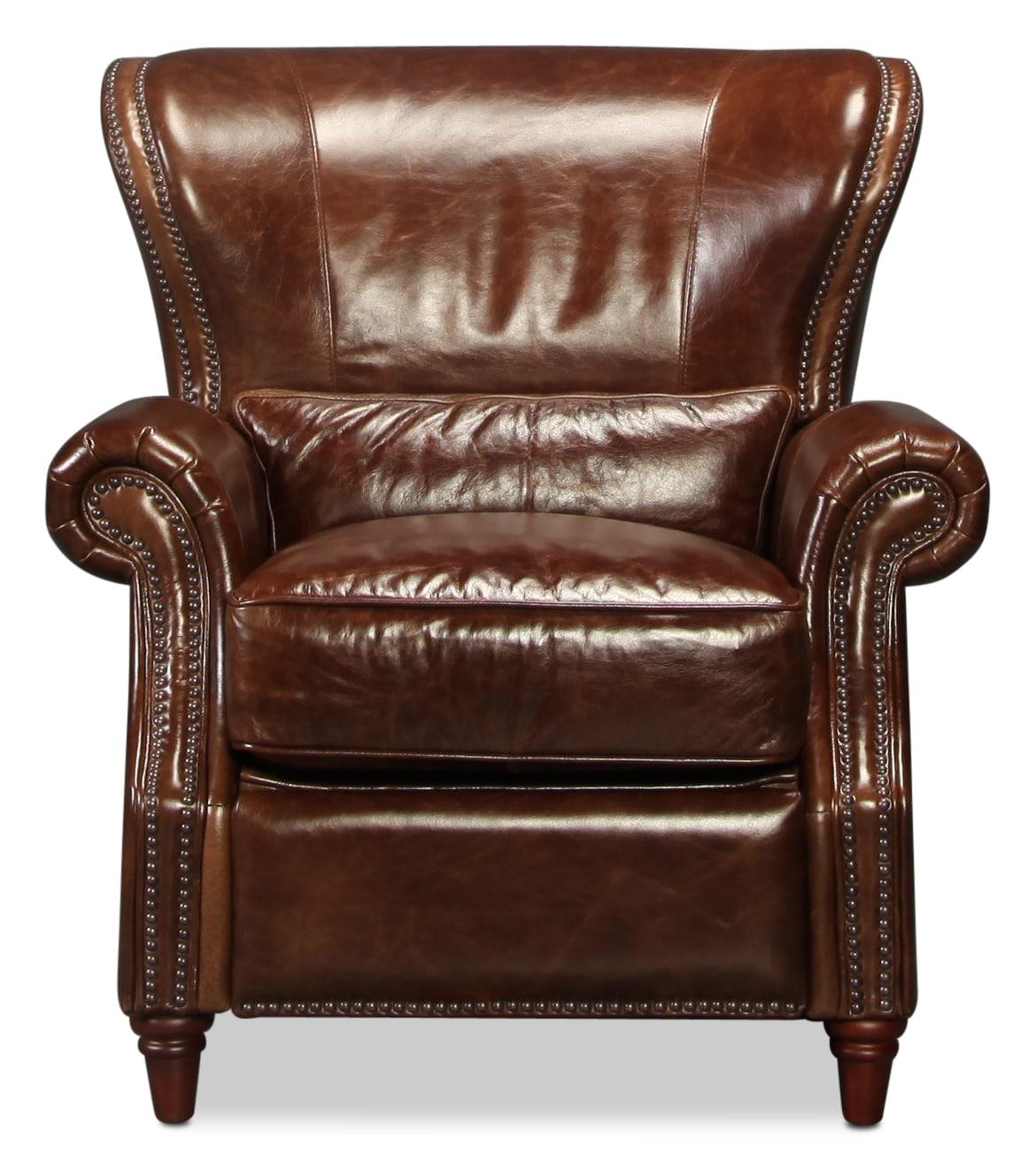 Natalia Leather Chair - Cigar