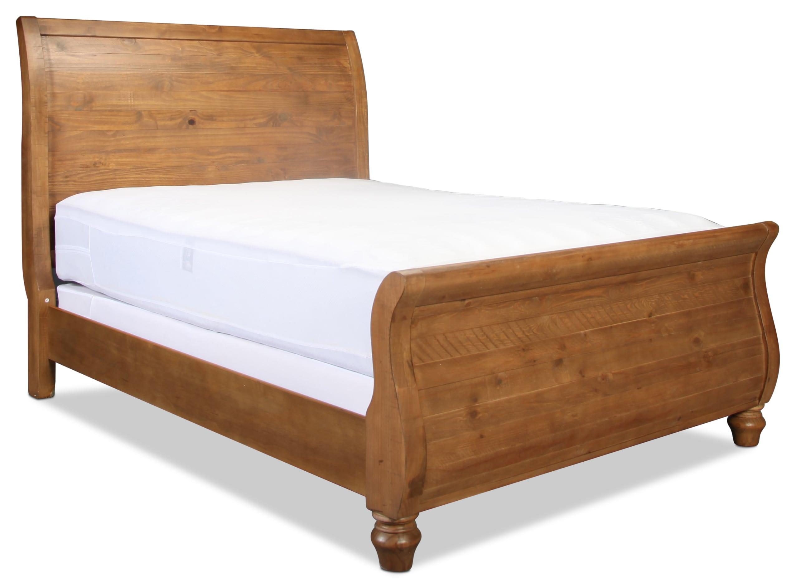 Weathered Gray King Bedroom Set : Hayden king sleigh bed weathered grey levin furniture