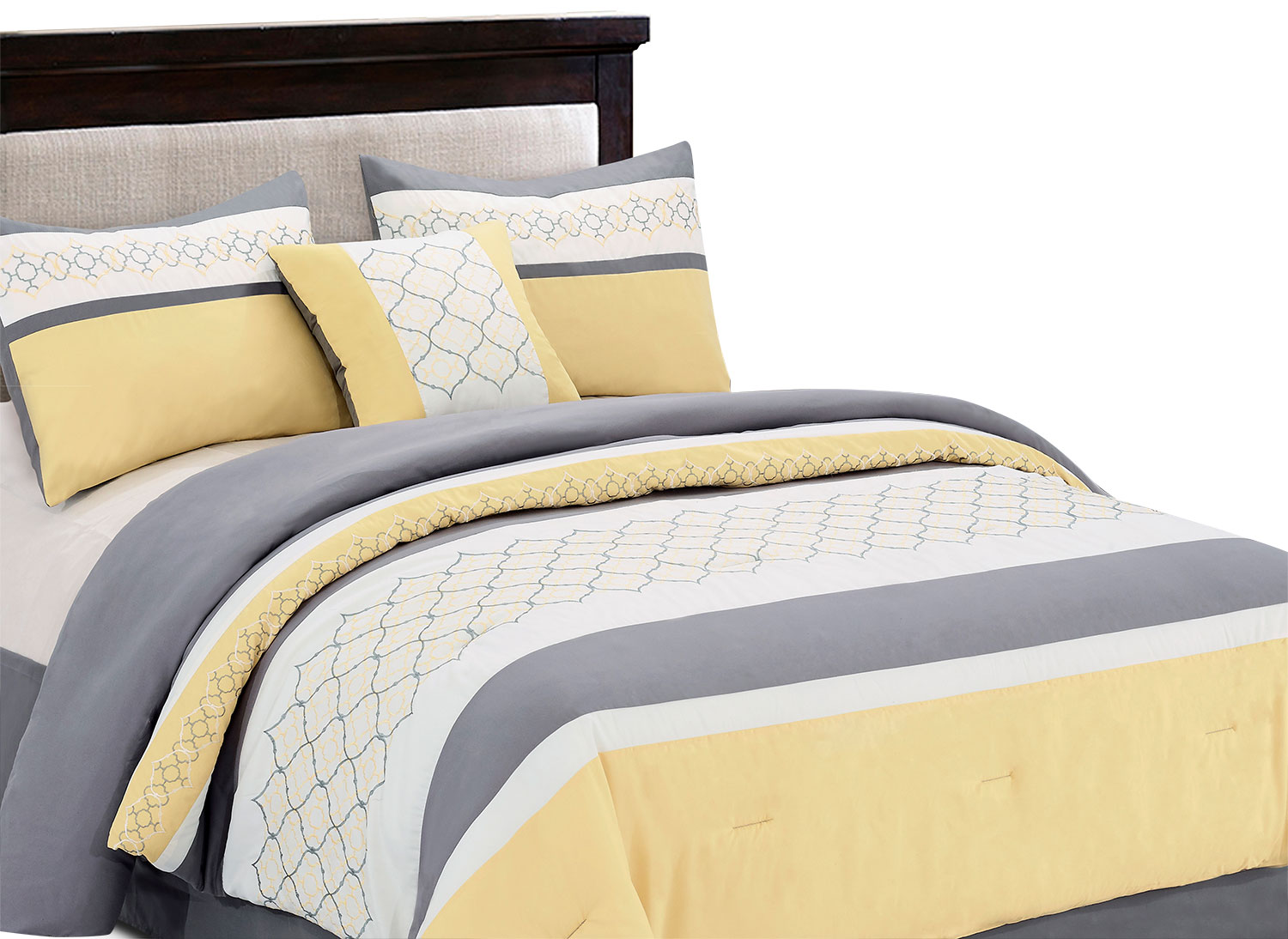 Vermont 4-Piece Queen Comforter Set