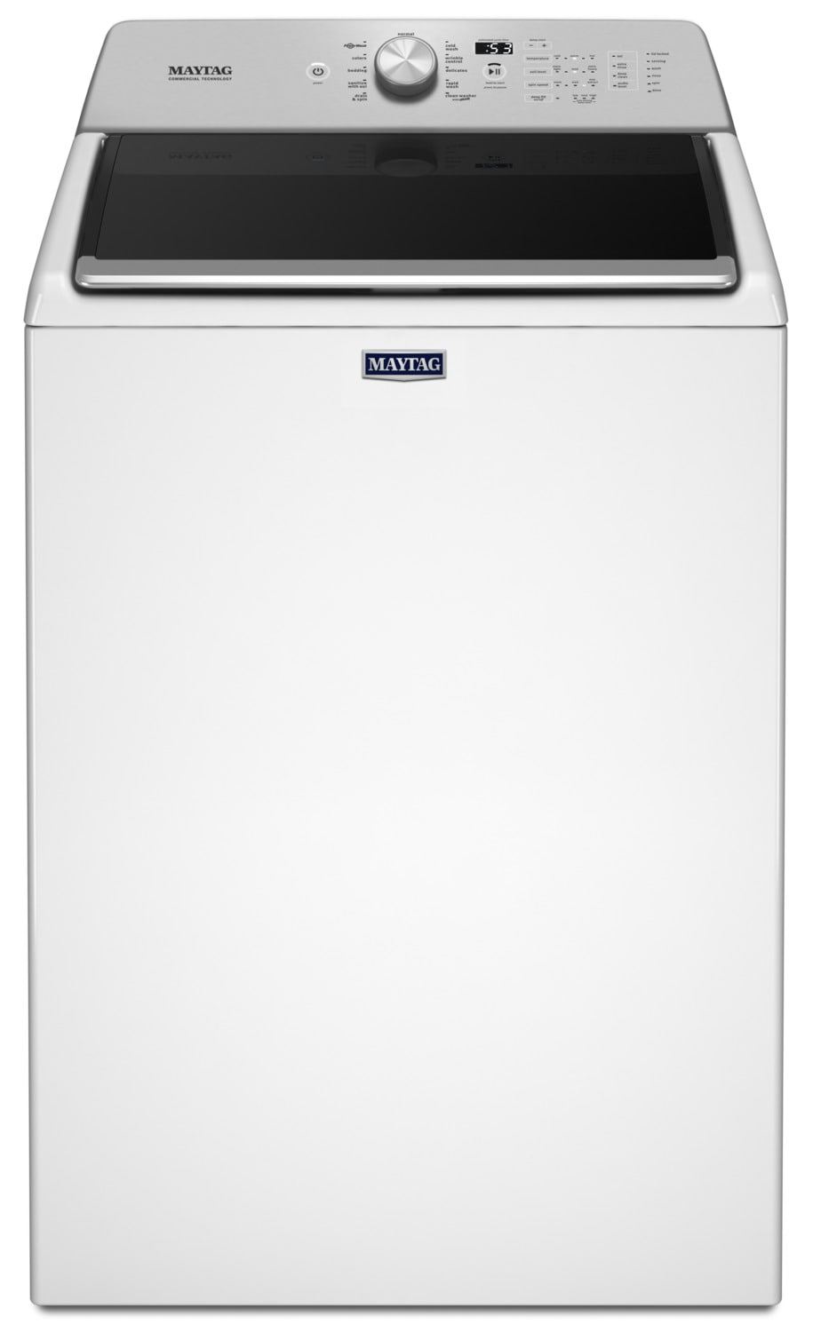 Maytag White Top-Load Bravos Washer (5.5 Cu. Ft. IEC) - MVWB765FW