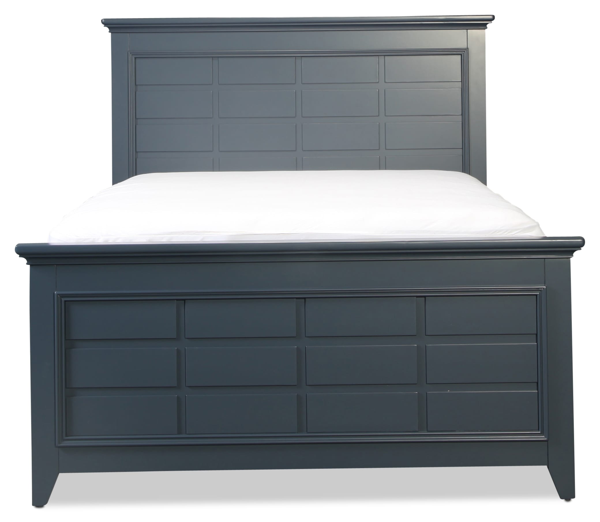Breslin Full Bed - Navy