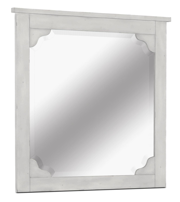 Coventry Lane Mirror - White
