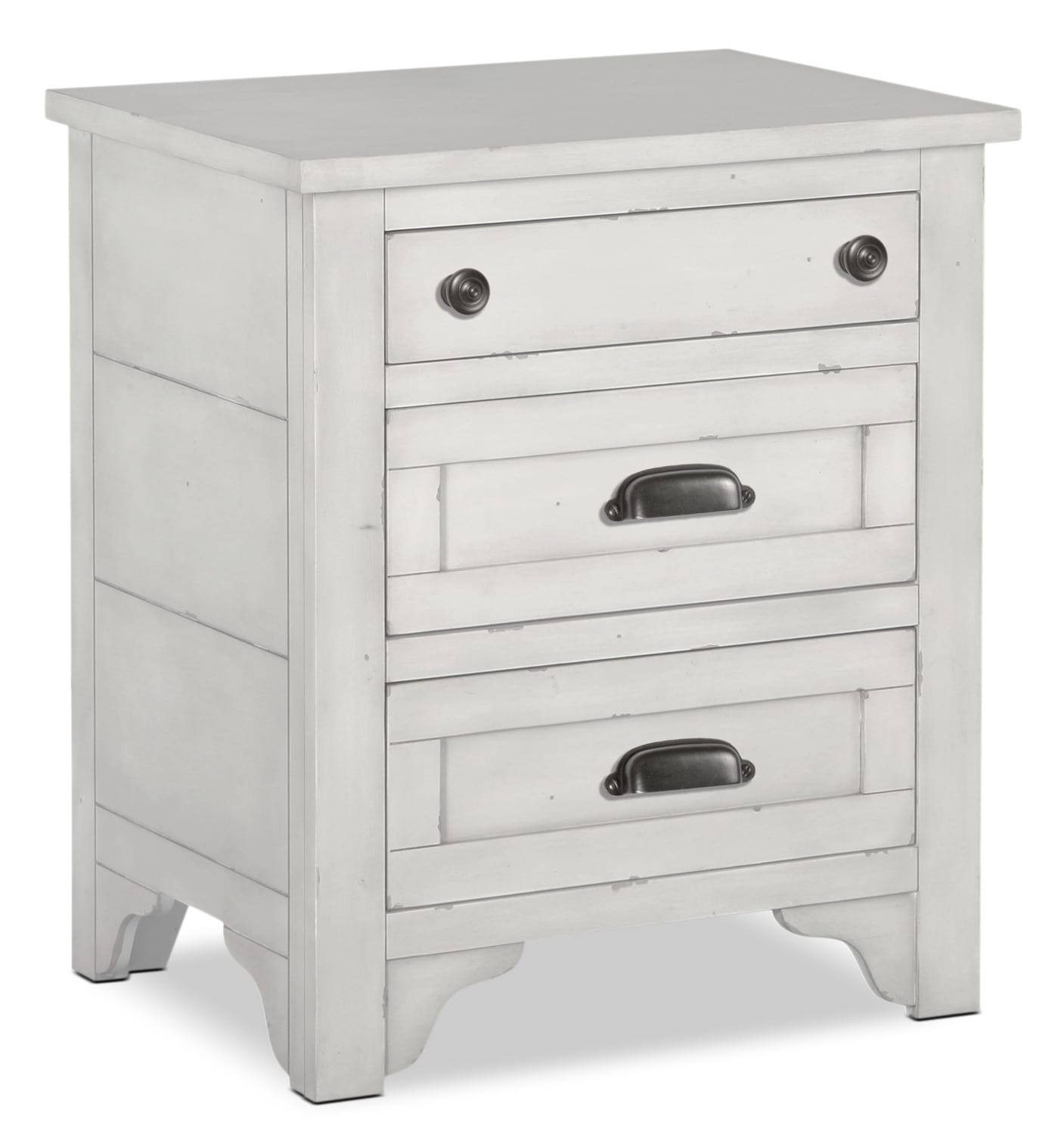 Coventry Lane Night Table - White