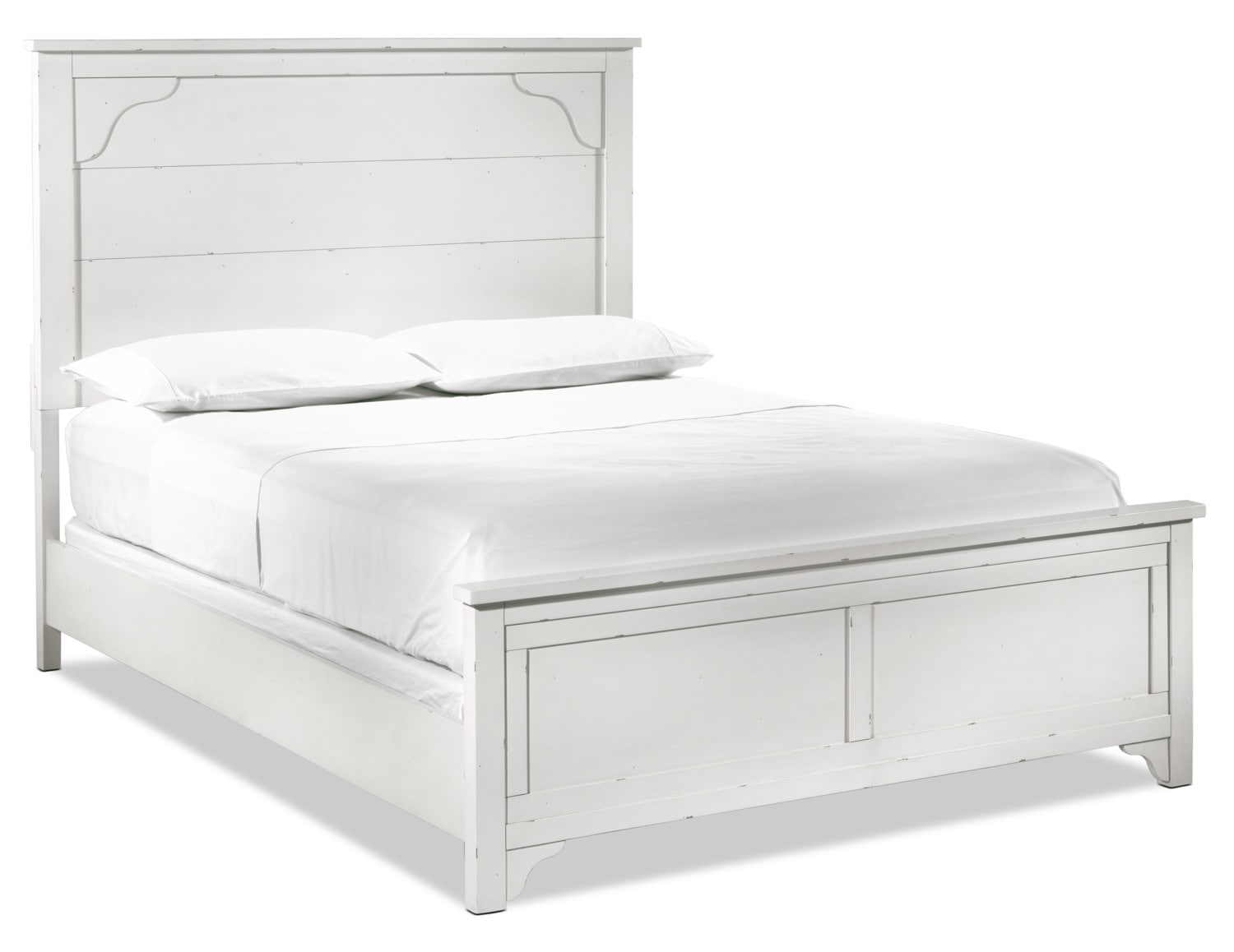 Coventry Lane Queen Bed - White