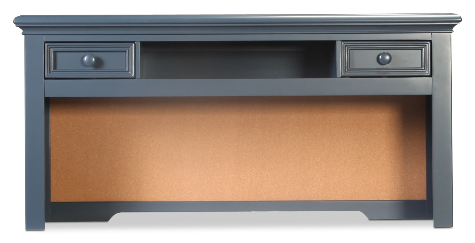 Breslin Desk Hutch - Navy