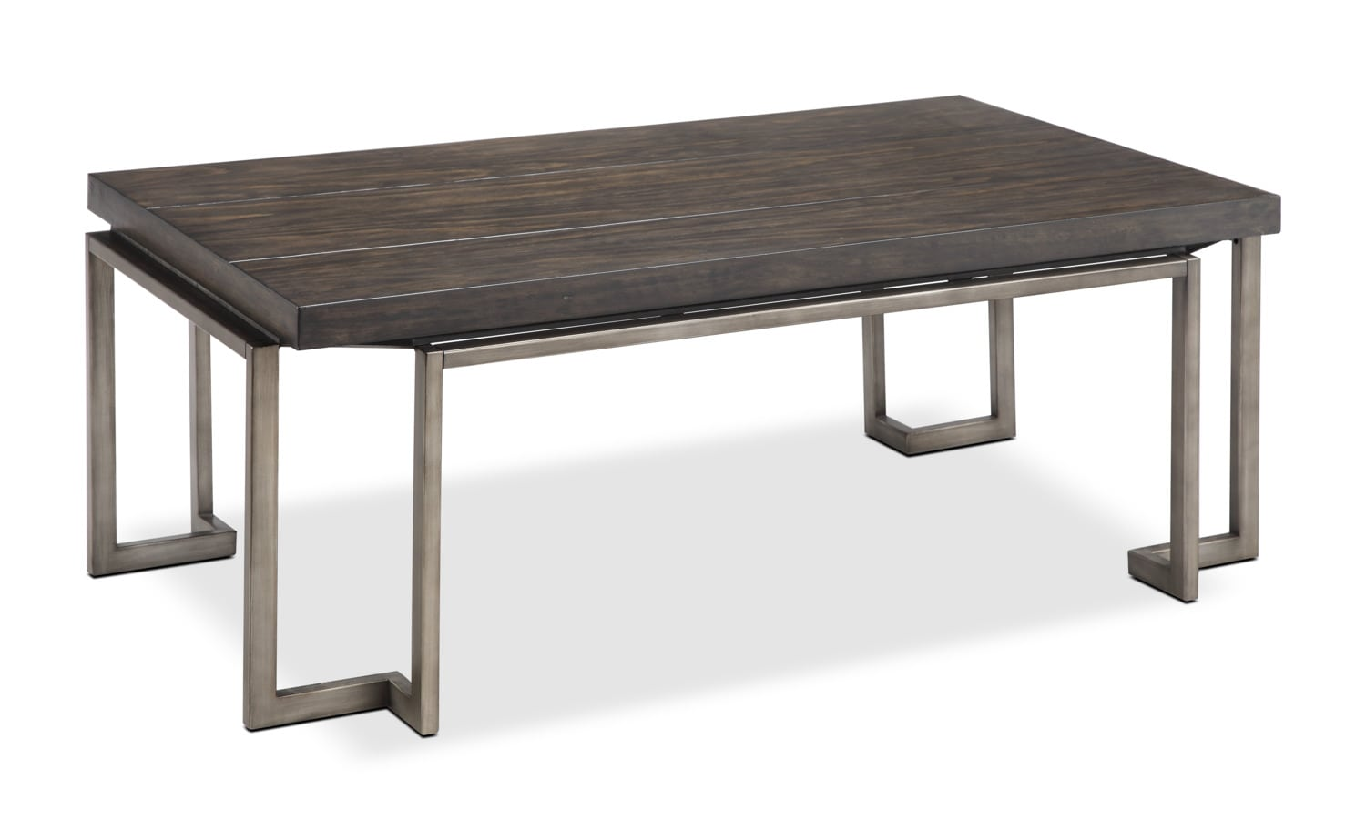 Milbourne coffee table united furniture warehouse for Coffee tables you can put photos in