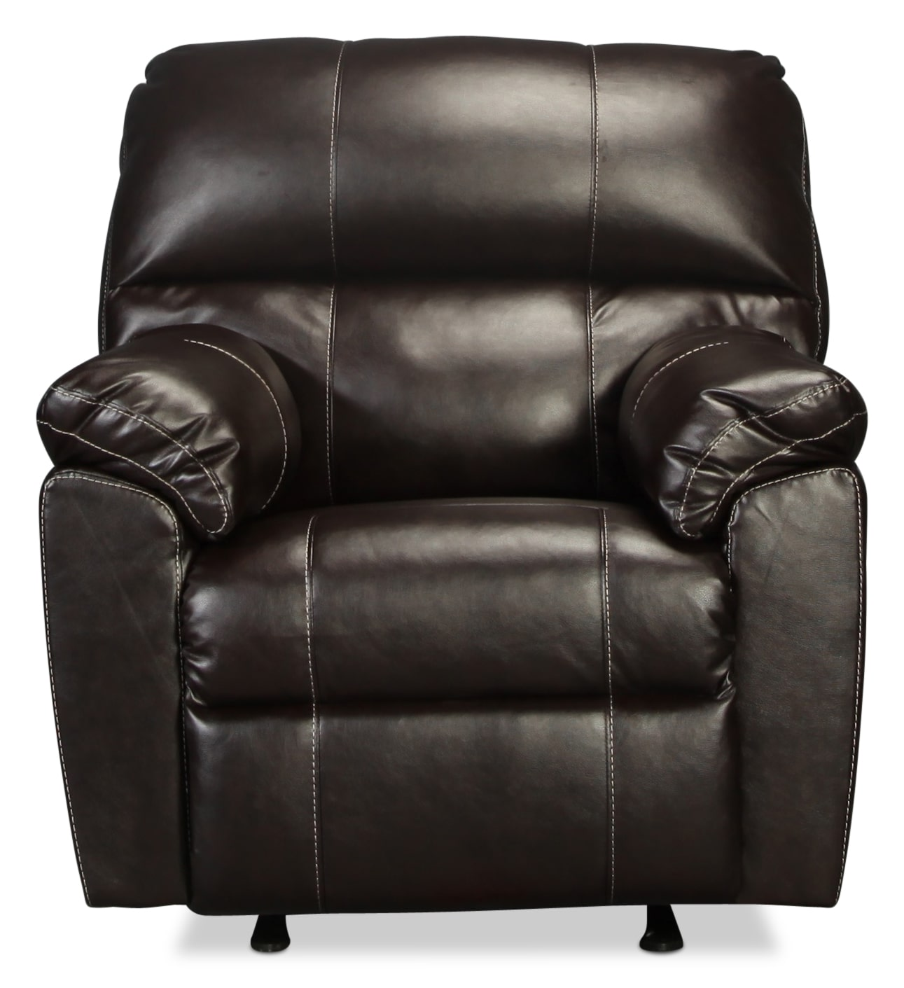The Rigley Rocker Recliner - Chocolate