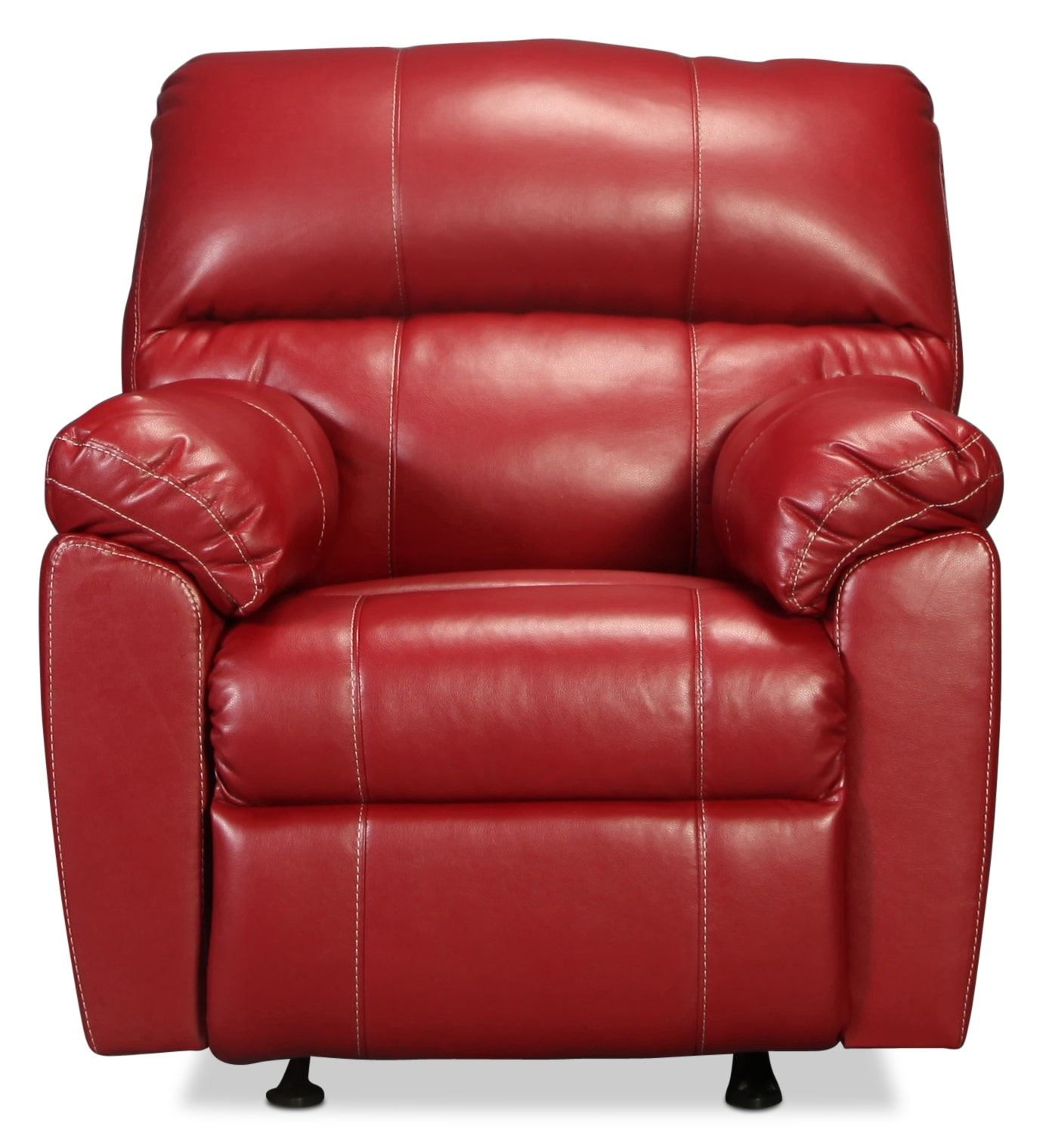 The Rigley Rocker Recliner - Red