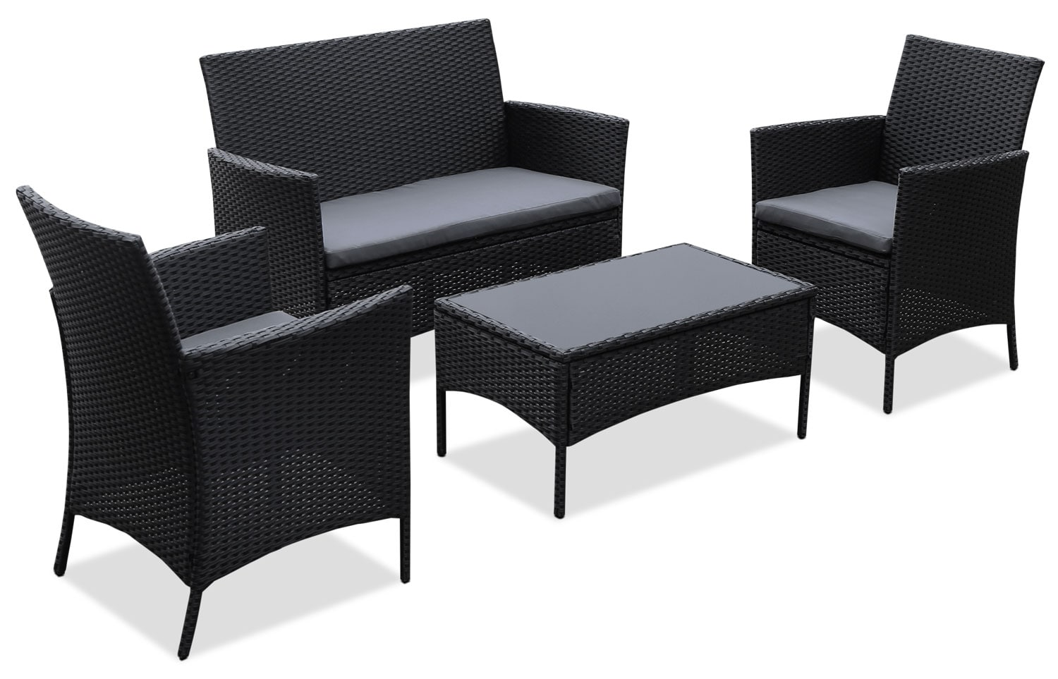 Trinidad 4-Piece Patio Conversation Set