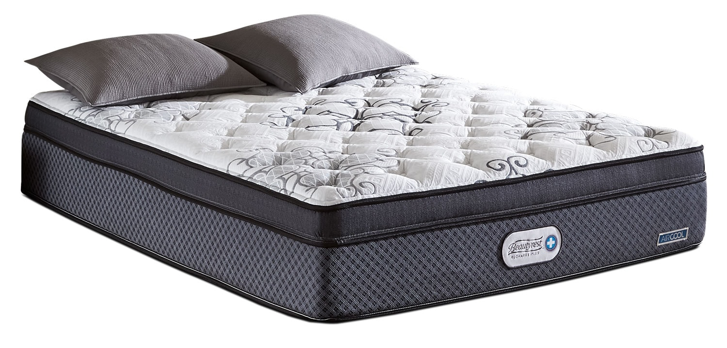 Mattresses and Bedding - Beautyrest Recharge Plus Covington Euro-Top Luxury Firm Queen Mattress