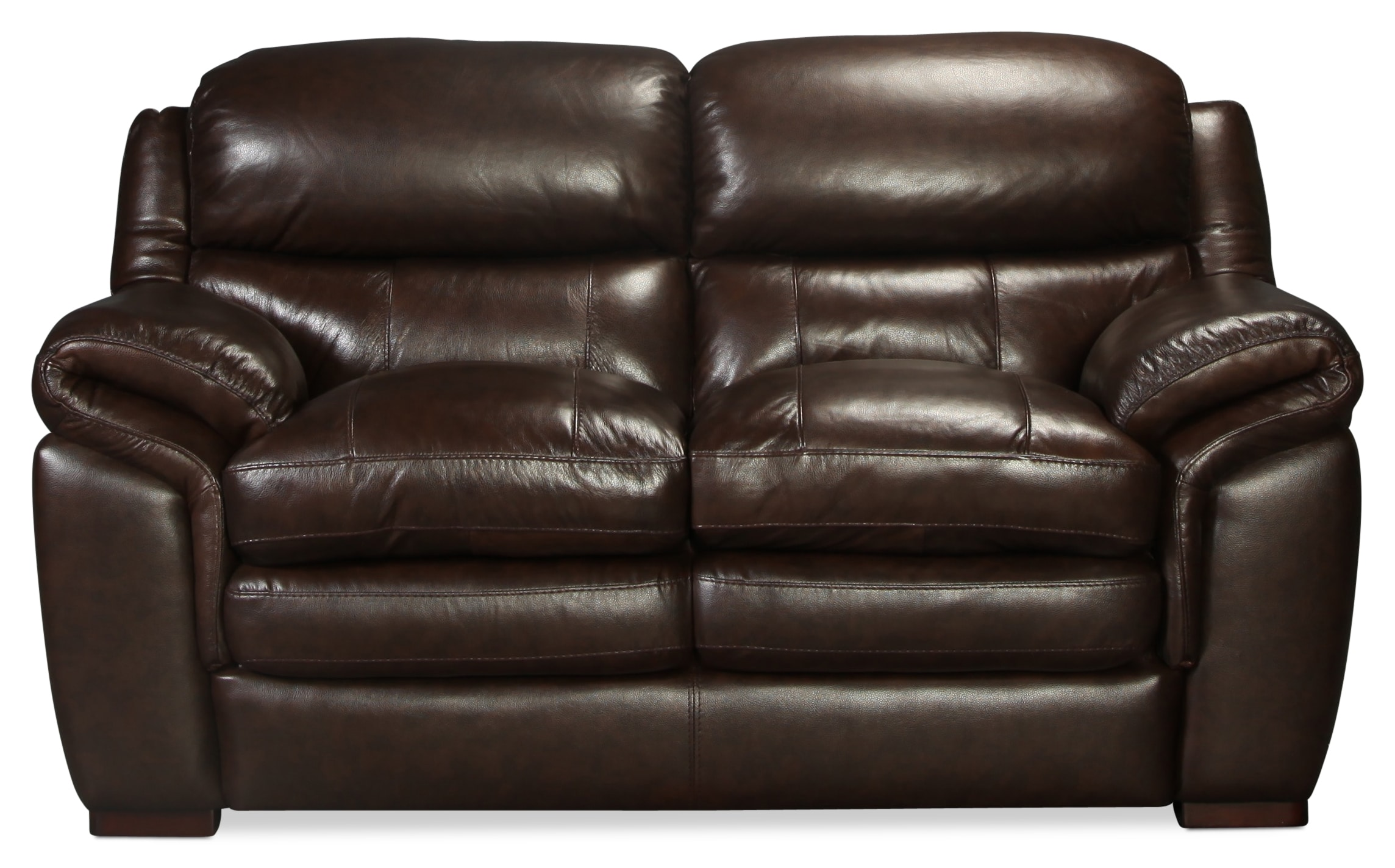 Rowan Leather Loveseat