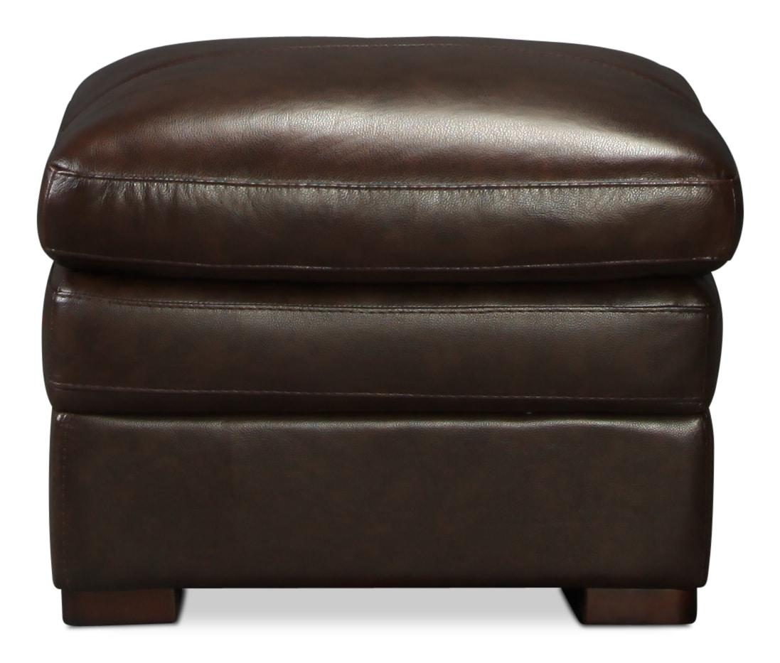 Rowan Leather Ottoman