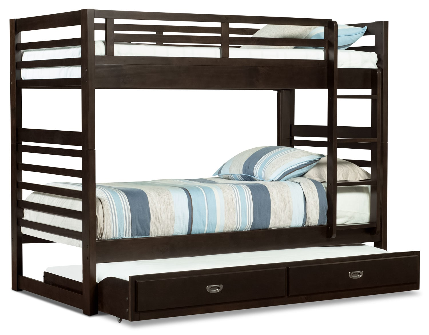 Bunk Bed Chadwick Twin Twin Bunk Bed Espresso The Brick