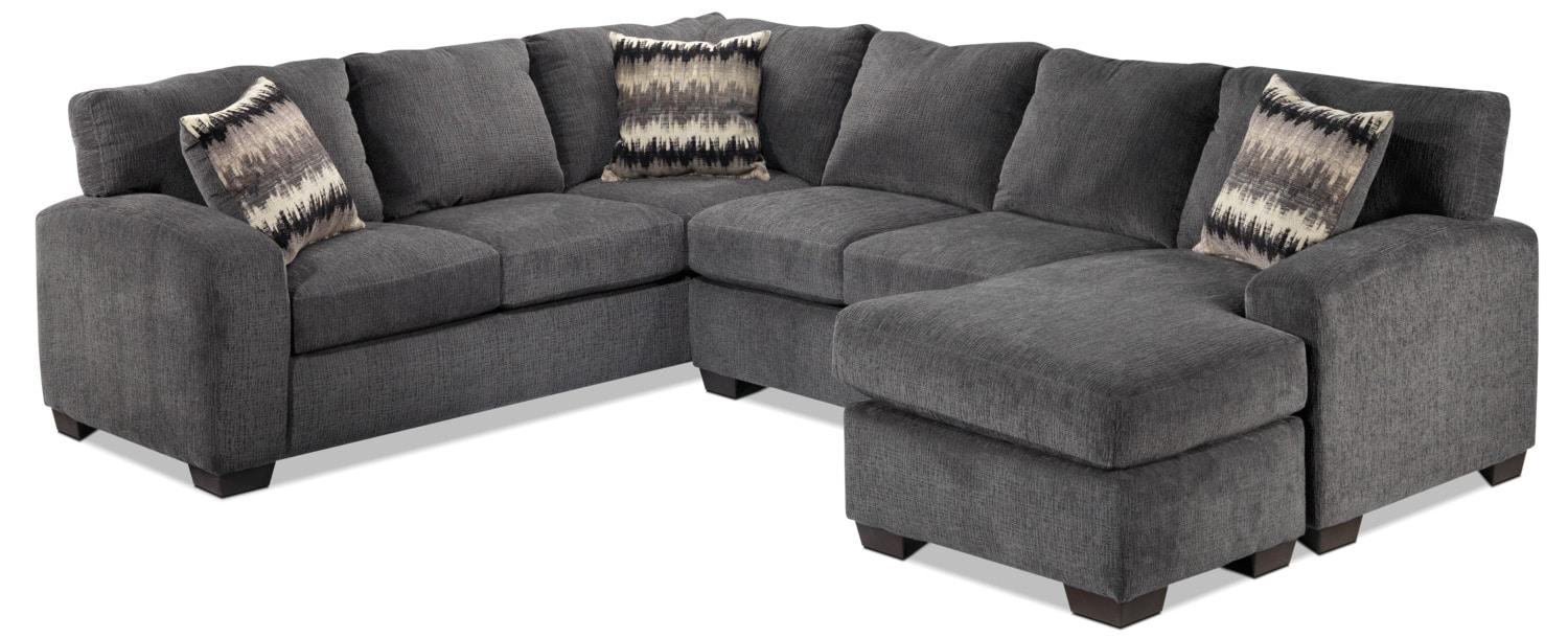 Perth 2 Piece Right Facing Sectional With Chaise