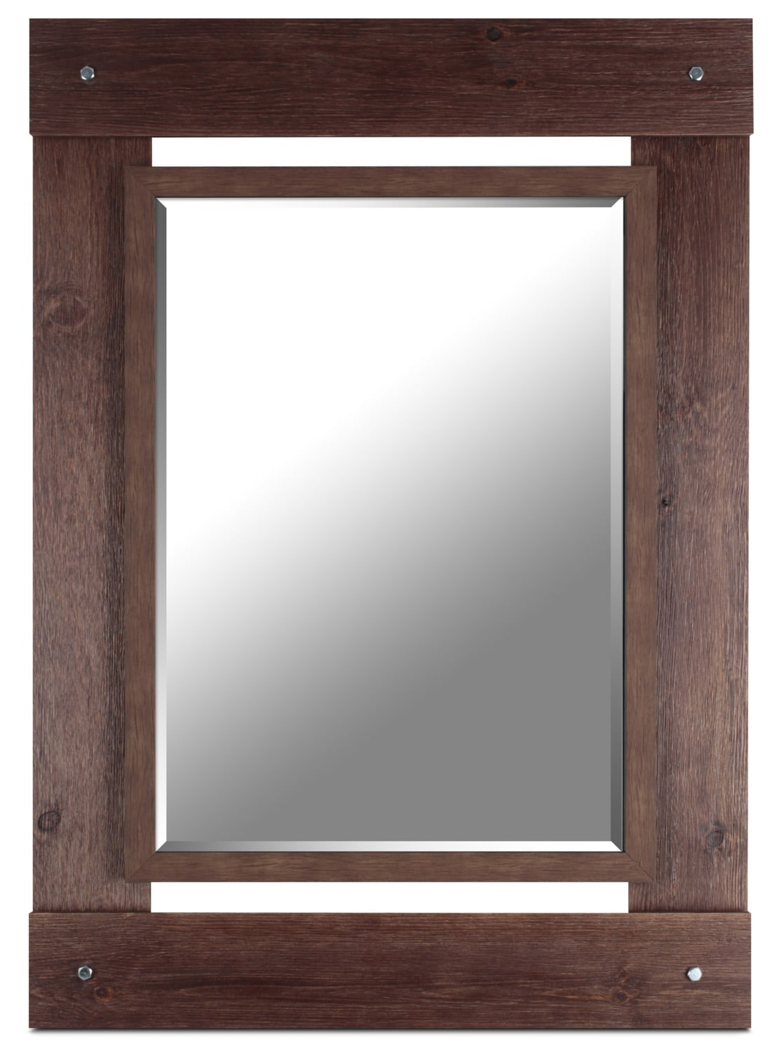 "Red French Country Mirror – 30"" x 42.5"""