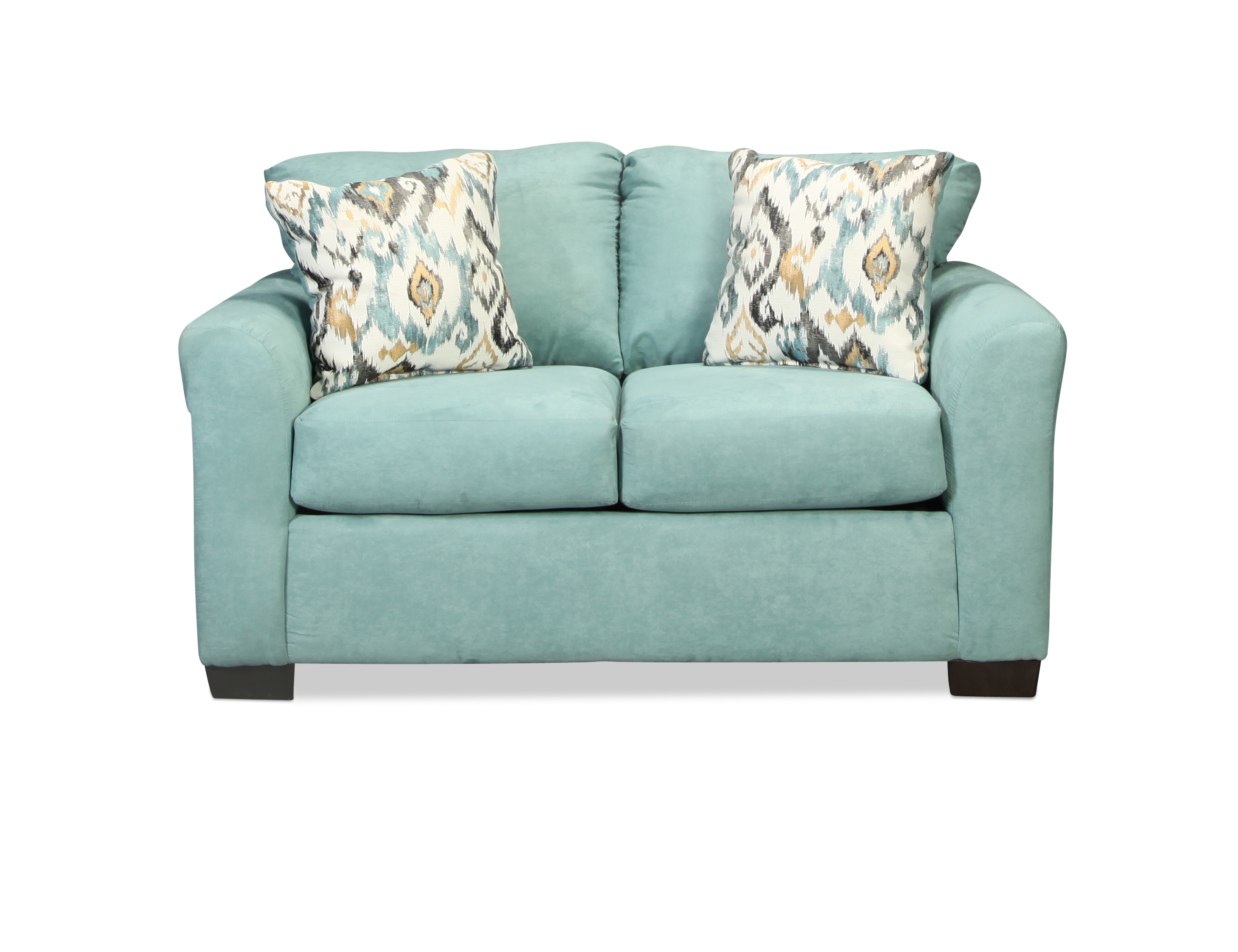 Capri Loveseat - Light Blue