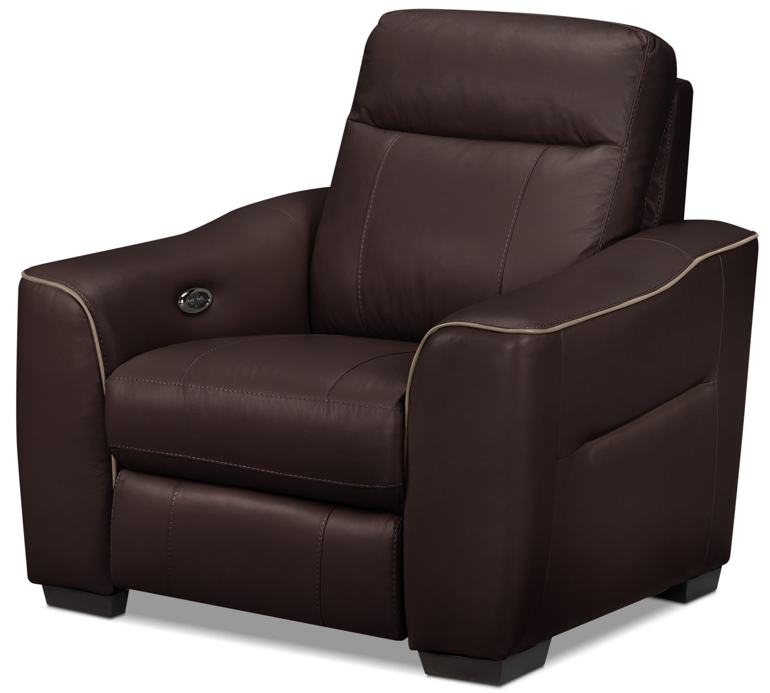 Bolton Power Recliner - Dark Brown