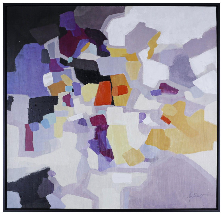 "Colour Blocks – 39"" x 39"""
