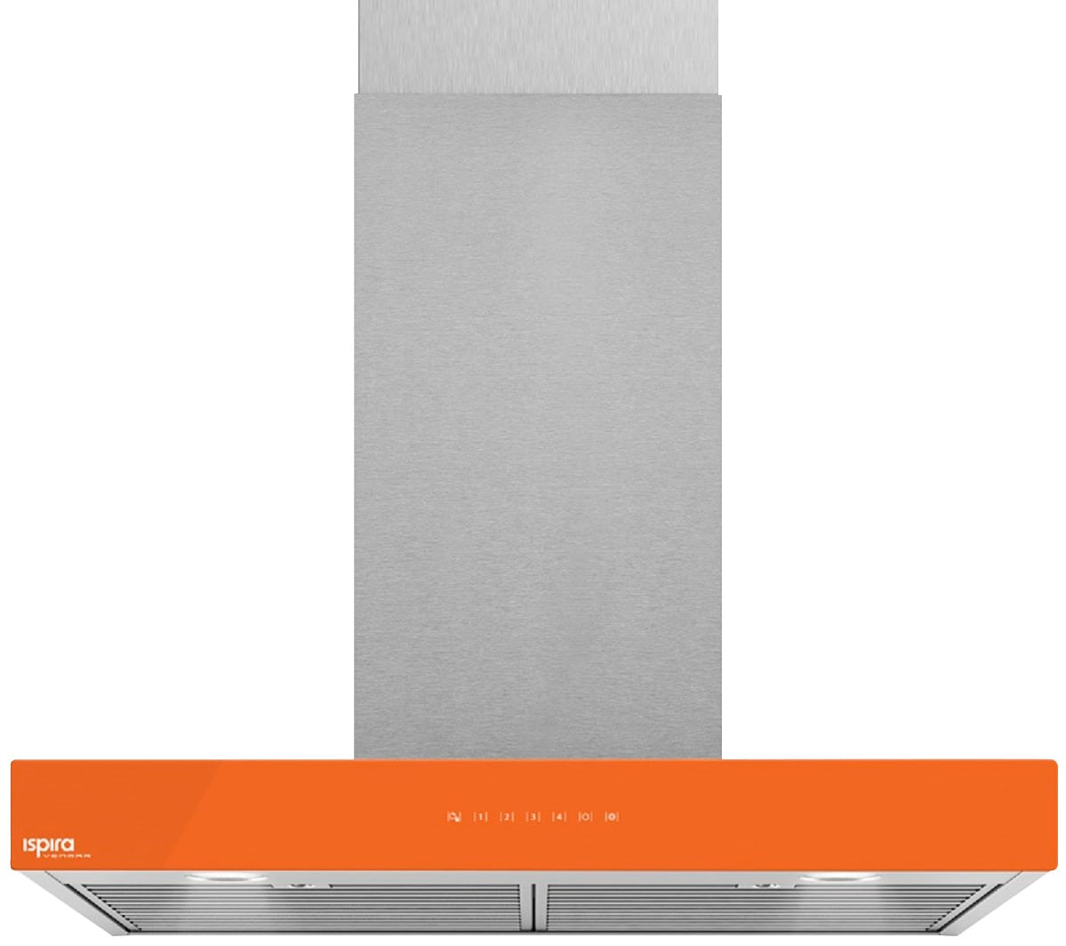 "Venmar Ispira 36"" Chimney Range Hood – Orange"