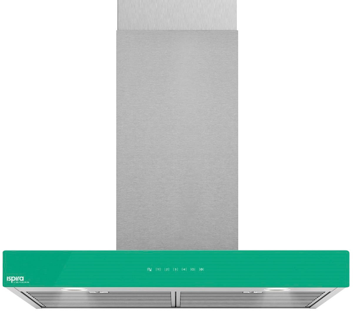 "Venmar Ispira 36"" Chimney Range Hood – Emerald Green"