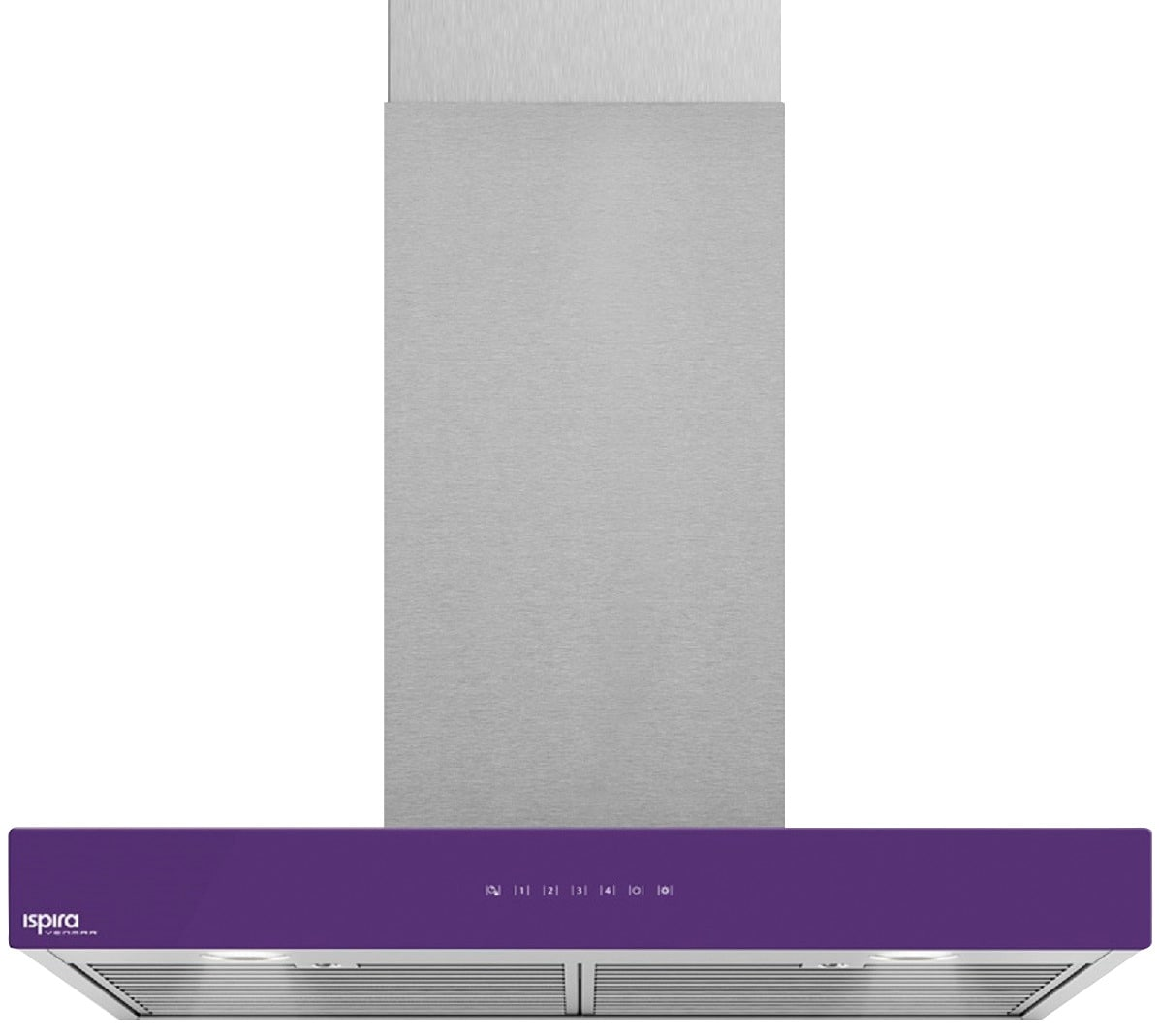 "Venmar Ispira 36"" Chimney Range Hood – Purple"