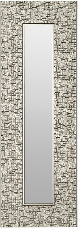 Accessoires pour la maison - Miroir argenté - 9,25 po x 27,75 po