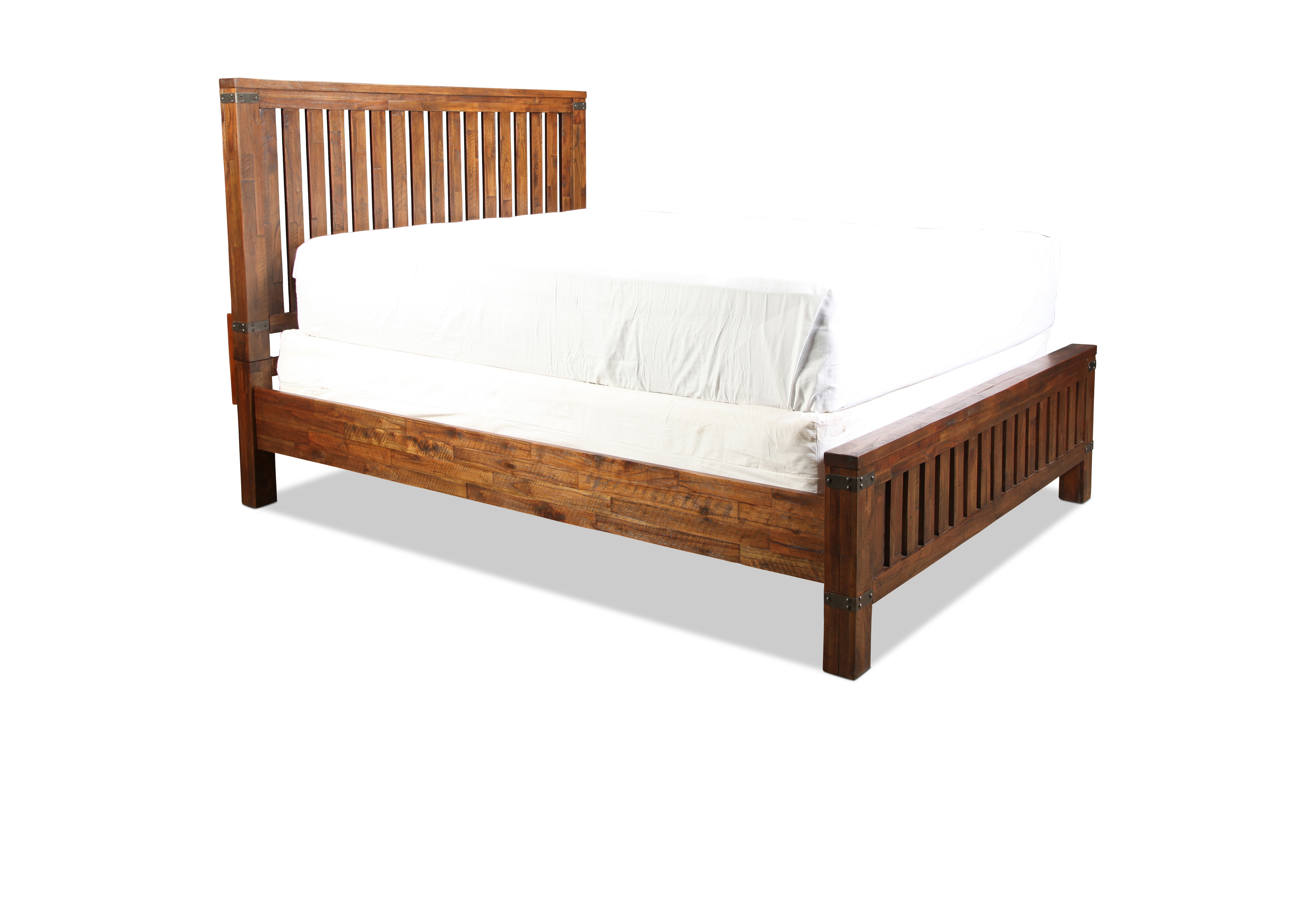 Maine Craftsman Everett King Bed