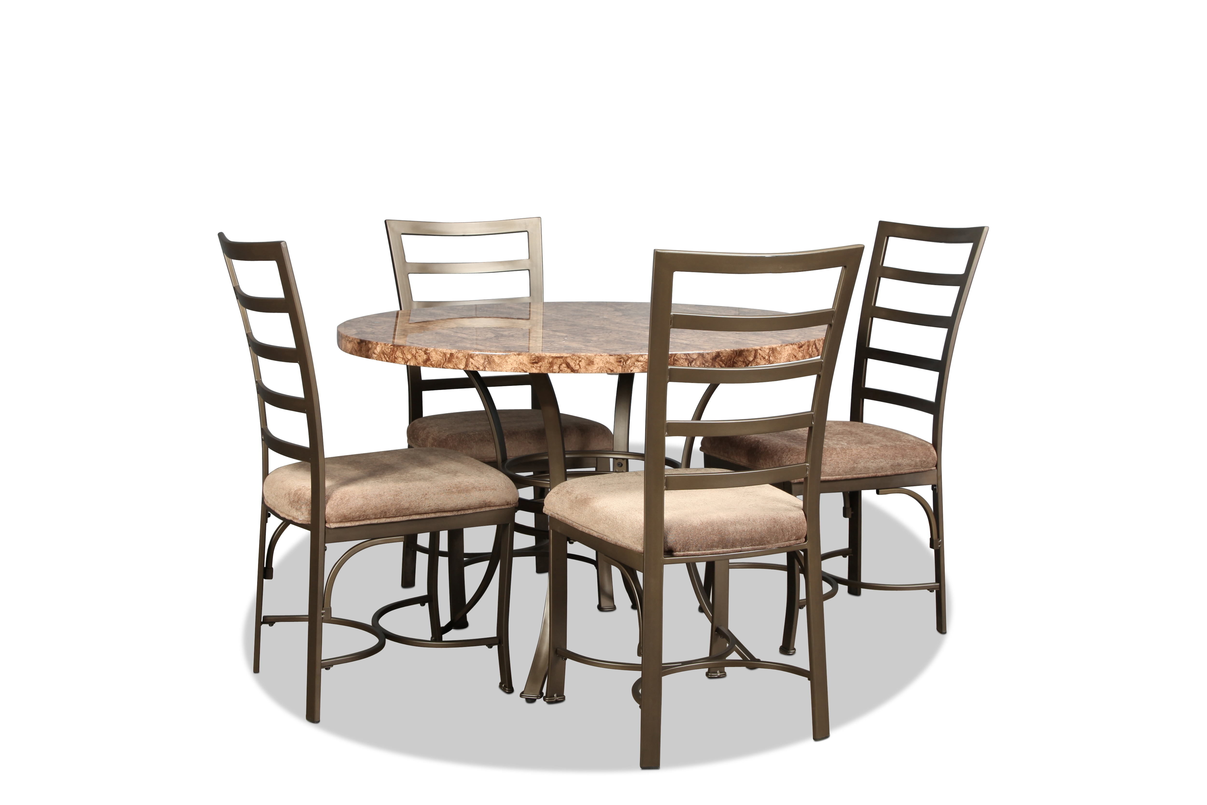 Dining Room Furniture - Capella Table and 4 Side Chairs