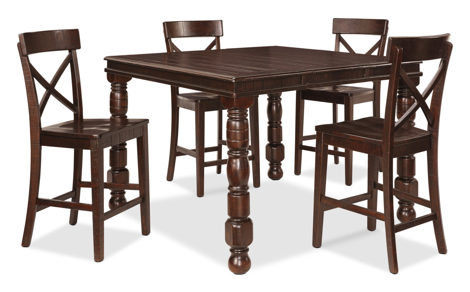 Gerlane 5-Piece Counter-Height Dining Package