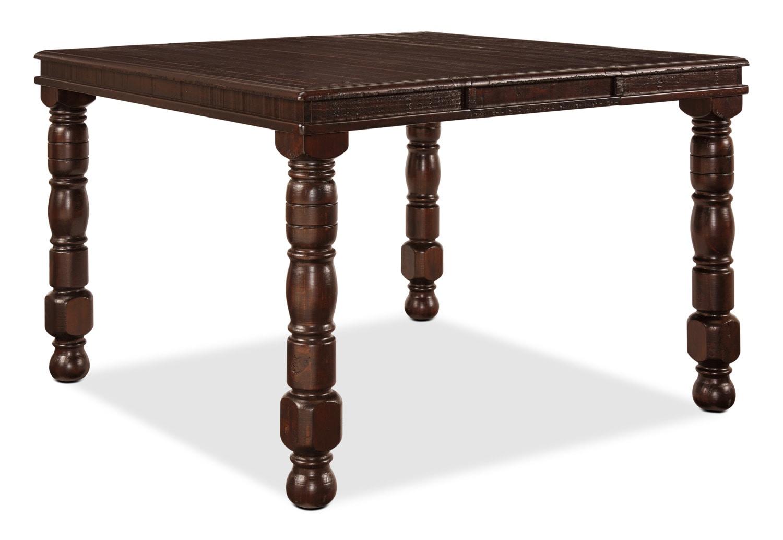 Salle à manger - Table de salle à manger Gerlane de hauteur comptoir