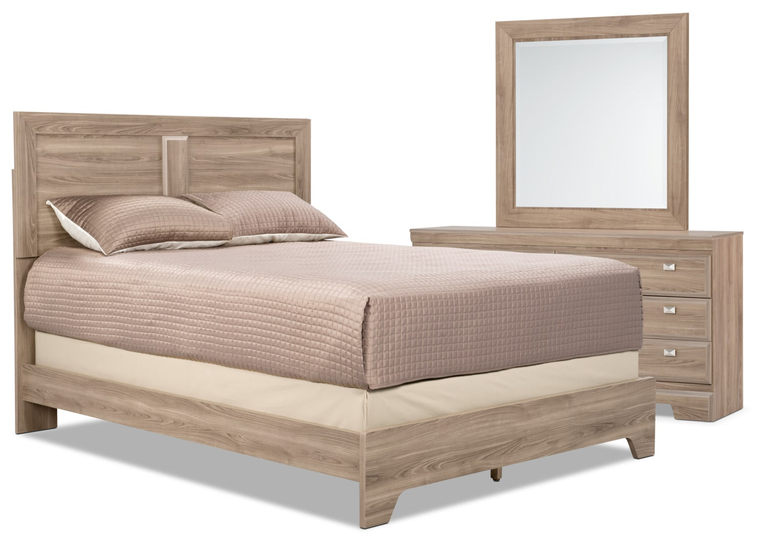 Yorkdale Light 5-Piece King Bedroom Package